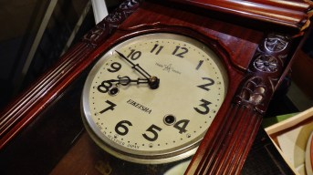 Eikeisha - a clock made in occupied Japan, after WW2.
