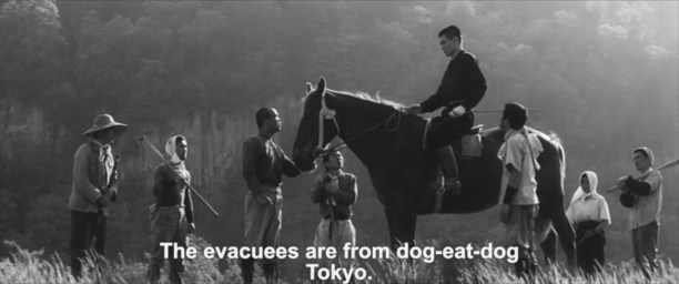 A Legend or was it Kinoshita 1963 evacuees dog eat dog Tokyo