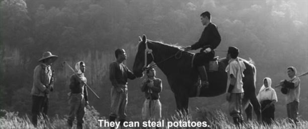 A Legend or was it Kinoshita 1963 evacuees steal potatoes