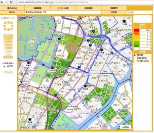 Tokyo station crime map Ginza
