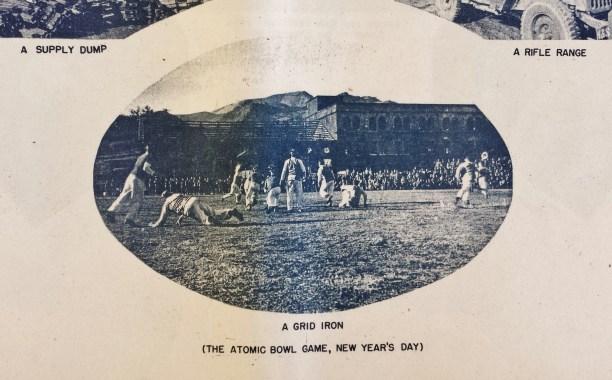 Nagasaki atomic bomb occupation football