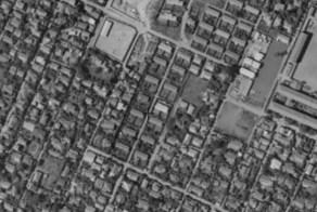 Kichijoji Kitamachi Company Housing aerial map 1961-64