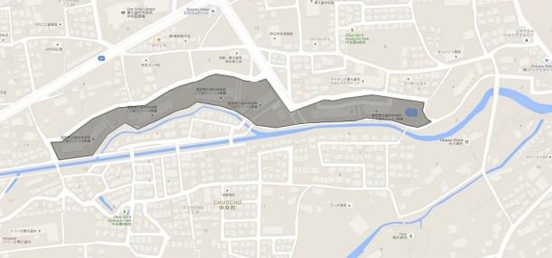 Toei Higashi Kurume Center-cho, 2-Chome apartment - river map 1