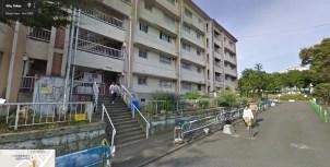 UR Akabanedai danchi building 10