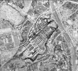 UR Akabanedai danchi site 1945