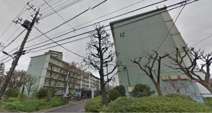 pruned trees Toei Minami Tanaka Apartment 3