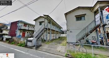 apaato apartment Kunitachi Tokyo rusty
