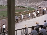 End of Summer 1961 keirin bike racing velodrome 2