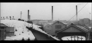 Zero Focus smokestacks Japan snow