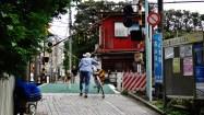 Toshima-ku Tokyo level train crossing 2