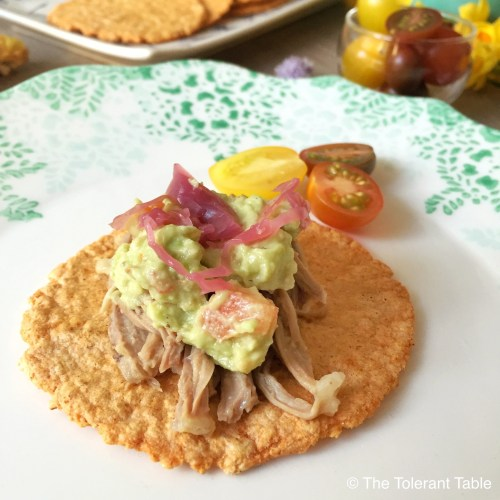 Filled taco