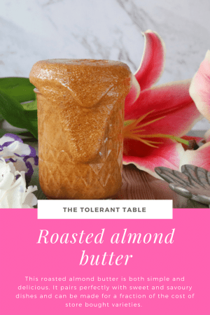 Roasted Almond Butter Pinterest