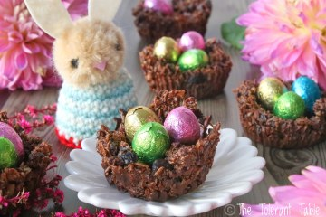 Chocolate Easter Nests with Bunny