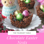 Chocolate easter nests Pinterest
