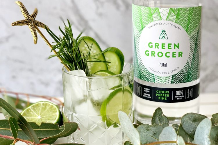 Christmas Mocktail - the green grocer fizz