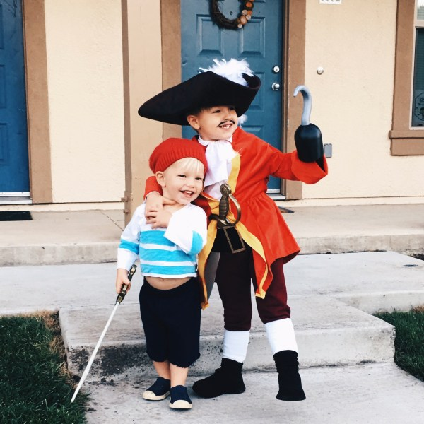 Captain Hook And . Smee Tom
