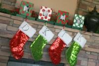 Photo Frame Stocking Holders {Christmas Ideas} | The ...