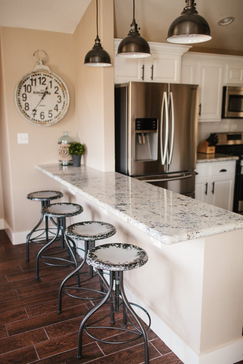 The Dining Room  Breakfast Bar  Vacation Home Remodel  The TomKat Studio Blog