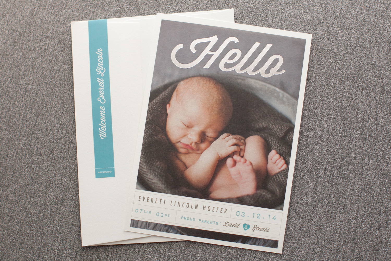 Gorgeous Baby Announcements 500 Minted Giveaway