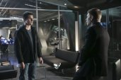 """The Tomorrow People -- """"Brother's Keeper"""" -- IImage Number: TP114a_0357.jpg -- Pictured (L-R): Robbie Amell as Stephen and Mark Pellegrino as Dr. Jedikiah Price -- Photo: Katie Yu/The CW -- ©2014 The CW Network, LLC. All rights reserved."""