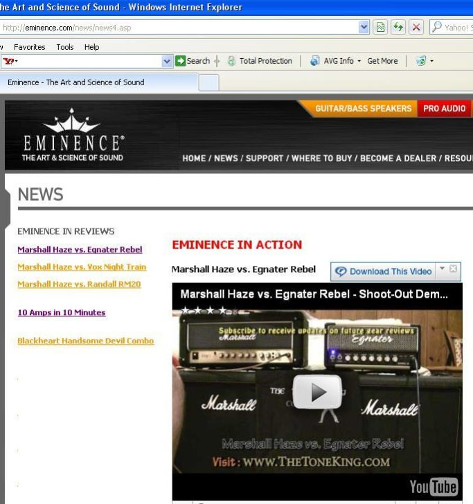 eminence_website_appearance