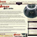 Jensen Announces New Website