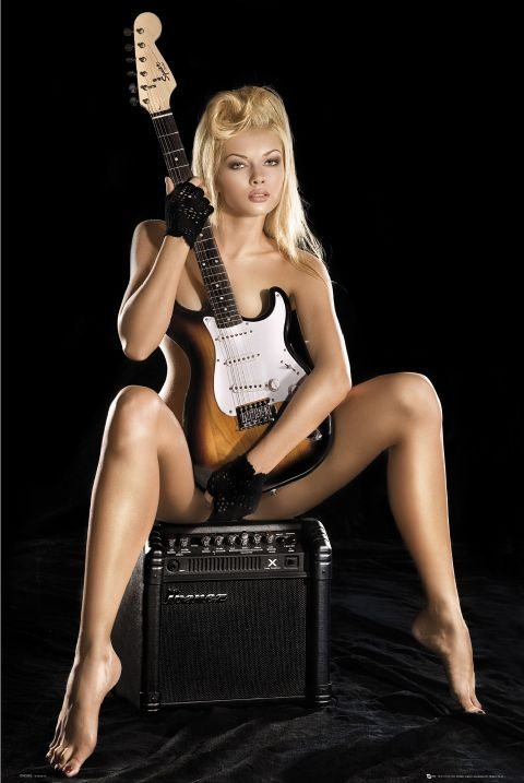 Naked girls guitars Sex Sells Women And Guitar Ads The Tone King