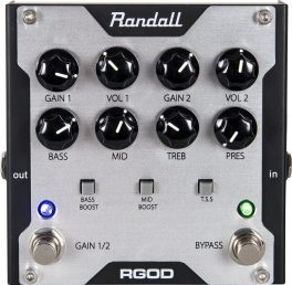 30 Pedals in 30 Days 2014: Randall RGOD : The Tone King