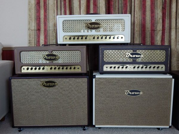 Brown - Family of Amps
