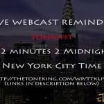 Live Webcast Reminder