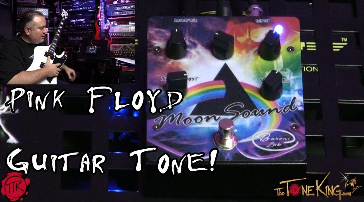 Pink Floyd In A Box David Gilmour Guitar Tone By Baroni Lab Moon Morley Mark 1 Tremonti Power Wah Pedal Bh Photo Sound The King