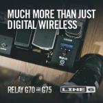 Line 6 RELAY G70 and G75 Wireless
