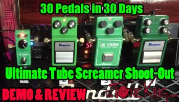30 Pedals in 30 Days 2015: Ibanez Tube Screamer Mini : The