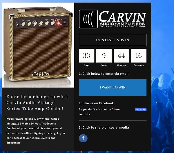 Carvin Promo