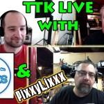 TTK LIVE with PixxyLixxx & InTheBlues!  LIVE WEBCAST REMINDER