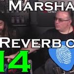 Marshall Reverb on 4 - TONE PRINT!  TC Electronic at GuitCon