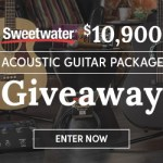 Sweetwater Acoustic Guitar Package - Giveaway