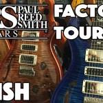 TRADE SECRETS - PRS Guitars - Paint & Finish - FACTORY TOUR Part 5