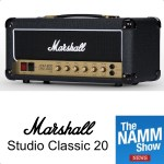 NAMM 2019 : Marshall Studio Classic 20 - the 20W JCM-800