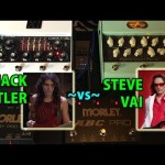 Steve Vai vs Jack Butler - CARVIN Legacy Drive vs. X1 Preamp Pedals