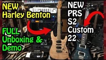 NEW HARLEY BENTON PROTOTYPE GUITARS #TGU19 : The Tone King