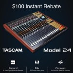 The TASCAM Model 24 - $100 Instant Rebate