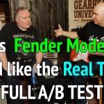 Fender Mustang vs. Fender Tube Amp. OUCH!   #TGU19
