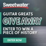 WIN a PIECE OF HISTORY from Sweetwater's World's Largest Pedalboard