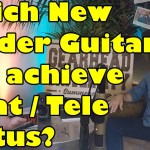 DOES FENDER GET TIRED OF MAKING STRAT & TELE GUITARS?