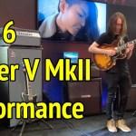 LIVE NAMM JAM!  Line 6 Spider V MkII Performance