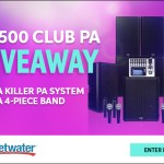 Sweetwater $8500 CLUB PA GIVEAWAY!  Check it ...