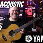 Built In Effects in an Acoustic Guitar - Yamaha TransAcoustic Demo & Review