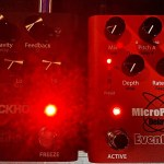 LIVE DEMO of EVENTIDE Blackhole Reverb & MicroPitch Delay Pedals