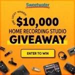Sweetwater 10K Home Recording Giveaway!
